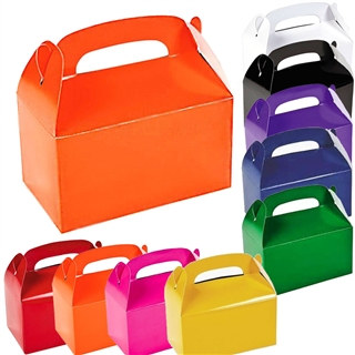 Solid Color Treat Boxes