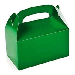 Green Treat Boxes (12/pkg)