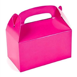 Pink Treat Boxes (12/pkg)