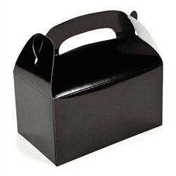 Black Treat Boxes (12/pkg)