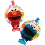 Sesame Street Party Blowouts (8/pkg)