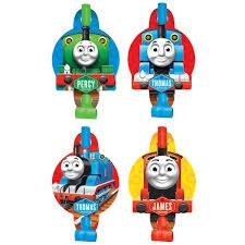 Thomas and Friends Party Blowouts (8/pkg)