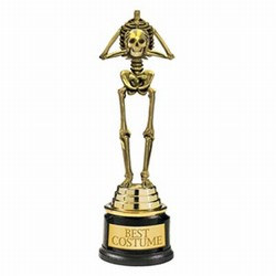 Best Costume Skeleton Trophy