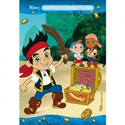 Jake and the Neverland Pirates Loot Bags (8/pkg)