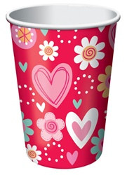 Valentine Sweets Hot/Cold Cups (8/pkg)