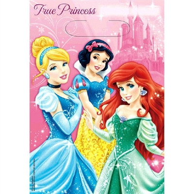 Disney Princesses Loot Bags (8/pkg)