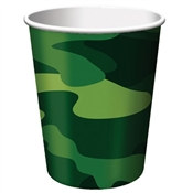 Camo Hot/Cold Cups (8/pkg)