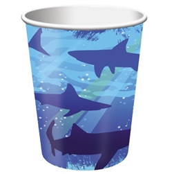 Shark Hot/Cold Cups (8/pkg)