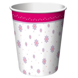 Tutu Much Fun Hot/Cold Cups (8/pkg)