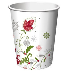 Merry Christmas Hot/Cold Cups (8/pkg)