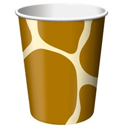 Giraffe Print Hot/Cold Cups