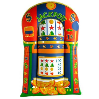 Inflatable Giant Slot Machine Partycheap