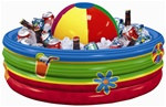 Beach Ball Inflatable Cooler