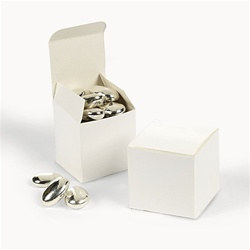 White Favor Boxes (50/pkg)