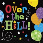 Over the Hill Balloons Beverage Napkins (16/pkg)