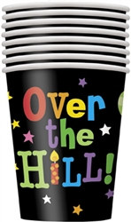 Over the Hill Balloons Hot/Cold Cups (8/pkg)