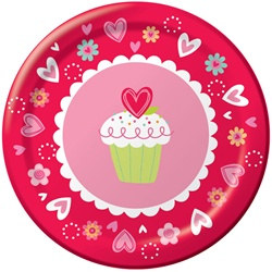 Valentine Sweets Lunch Plates (8/pkg)