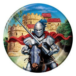 Valiant Knight Lunch Plates (8/pkg)