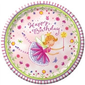 Garden Fairy Lunch Plates (8/pkg)