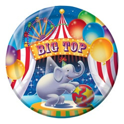Big Top Lunch Plates (8/pkg)
