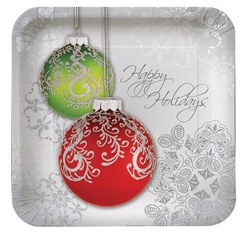 Happy Holiday Lunch Plates (8/pkg)