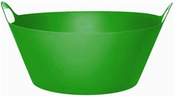 Green Plastic Party Tub