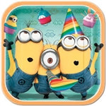 Despicable Me Lunch Plates (8/pkg)