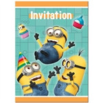Despicable Me Invitations (8/pkg)