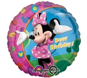 Minnie Mouse Round Balloon