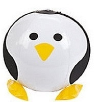 Inflatable Penguin Beach Ball (3/pkg)