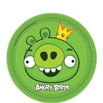 Angry Birds Round Plates 7 inches