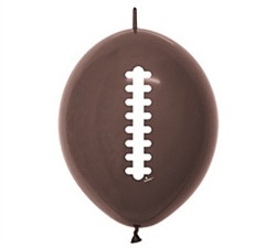 Football Link Latex Balloons (20/pkg)