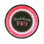 Bachelorette Party Dessert Plates