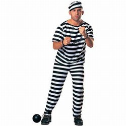 Adult Prisoner Man Costume