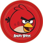 Angry Birds Round Plates 9 inches