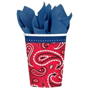 Bandana & Blue Jeans Hot/Cold Cups (8/pkg)