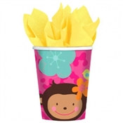 Monkey Love Hot/Cold Cups (8/pkg)