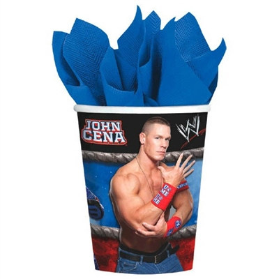 WWE Hot/Cold Cups (8/pkg)