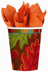 Fall Foliage Cups