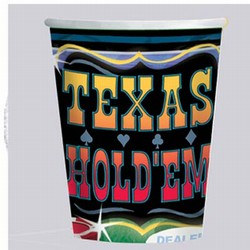 Texas Hold Em Hot/Cold Cups