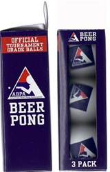 Official Beer Pong Balls (3/pkg)