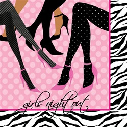 Girls Night Out Beverage Napkins (16/pkg)