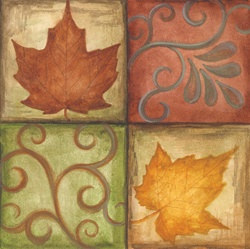 Autumn's Grace Beverage Napkins (16/pkg)