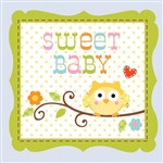 Happy Tree Baby Boy Napkins (16/pkg)
