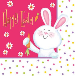 Happy Easter Luncheon Napkins (18/pkg)