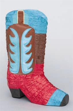 Cowboy Boot Pinata Partycheap