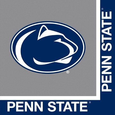 Penn state university lunch napkins 20 pkg partycheap for Penn state decorations home