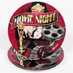 Movie Night Lunch Plates (8/pkg)