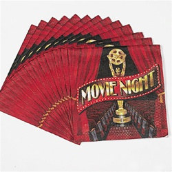 Movie Night Luncheon Napkins (16/pkg)