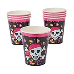 Pink Pirate Hot/Cold Cups
